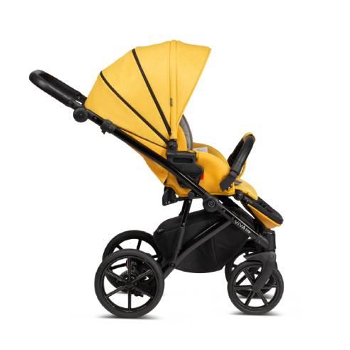 Otroški voziček Tutis Viva Life 075 Yolk Yellow športni sedež