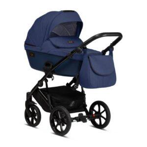 Otroški voziček Tutis Viva Life 076 Blue Indigo globoka košara
