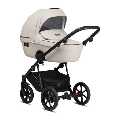 Otroški voziček Tutis Viva Life 085 Cloud Eko Usnje globoka košara
