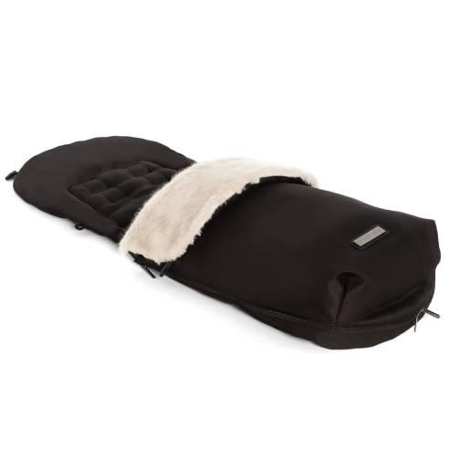 Zimska vreča Moon Solitaire black za otroški voziček