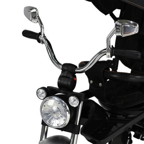 Tricikel Chopper 6v1 od 9 mesecev do 5 let Led luči
