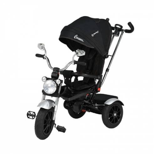 Otroški tricikel 6v1 , Tricilel Chopper, črna, black