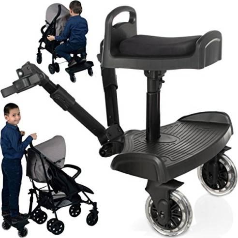 board za otroški voziček s sedežem