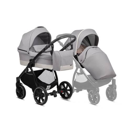 Otroški voziček Noordi Sole Go 625 warm grey 2v1