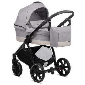 Otroški voziček Noordi Sole Go 625 warm grey, globoka košara