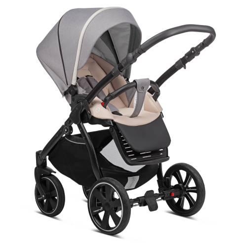 Otroški voziček Noordi Sole Go 625 warm grey, športni sedež