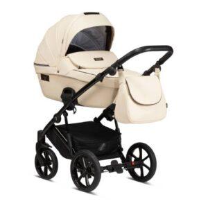Otroški voziček Tutis Viva Life 086 Vanilla Eko usnje