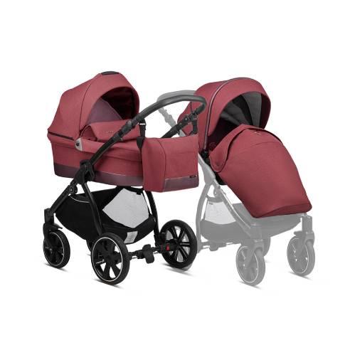Otroški voziček Noordi Sole Go, 628 Garnet 2v1