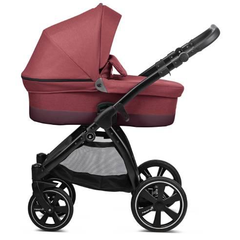 Otroški voziček Noordi Sole Go, 628 Garnet globoka košara