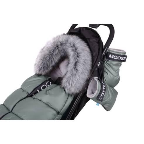 Zimska vreča Cottonmoose Green zelena NORTH 08