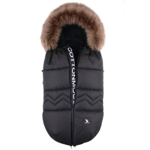 Zimska vreča Cottonmoose NORTH black 01