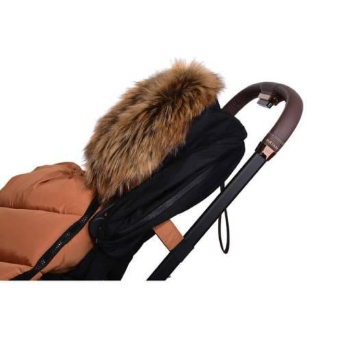 Zimska vreča Cottonmoose YUCON Amber karamel rjava 03