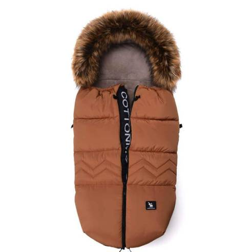 Zimska vreča Cottonmoose YUCON North karamel rjava 01