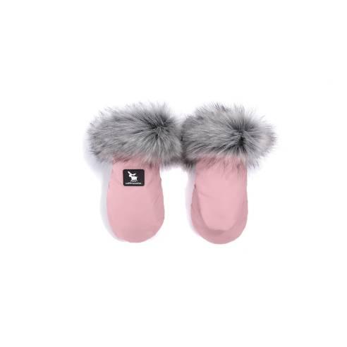 Zimske rokavice Cottonmoose Pink, roza za otroški voziček