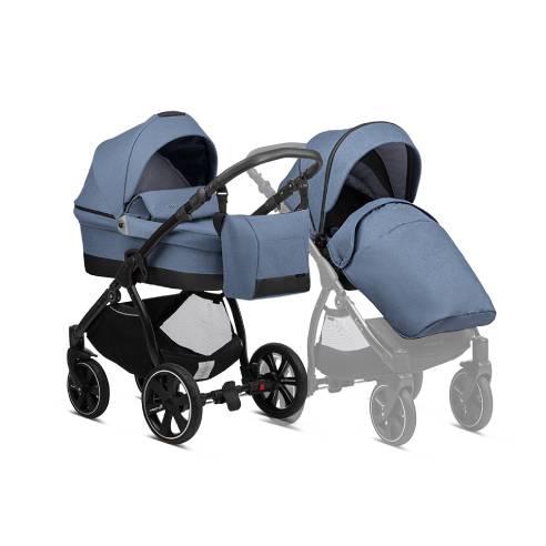 Otroški voziček Noordi Sole Go 629 blue jeans, 2v1
