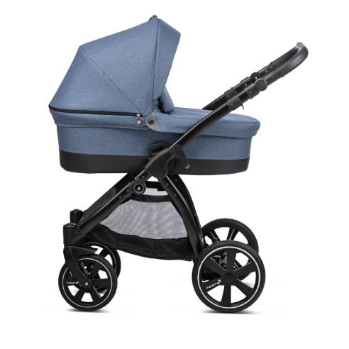 Otroški voziček Noordi Sole Go 629 blue jeans, globoka košara