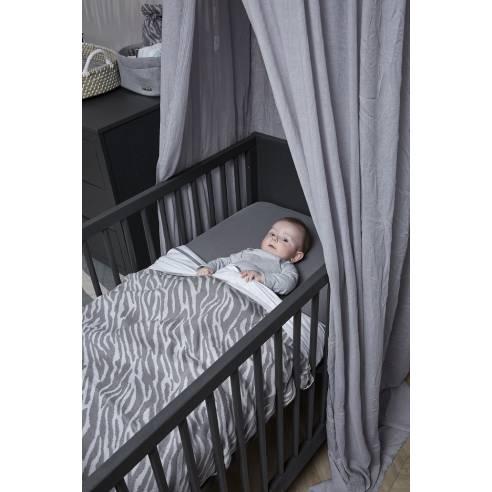 Baldahin za otroško sobo, svetlo siva, Meyco