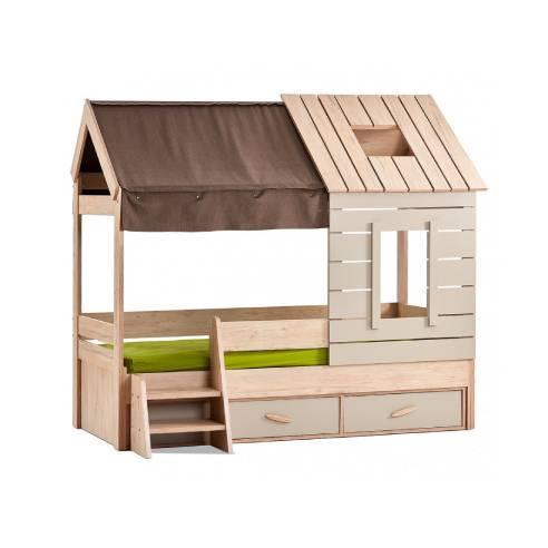 Otroška postelja hiška