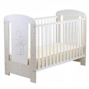 Otroška postelja 120x60cm Sleepy siva