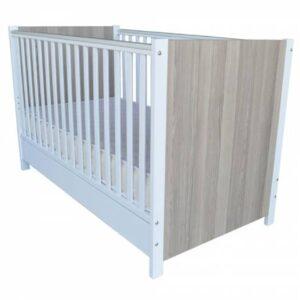 Otroška postelja Harmony bela 140x70