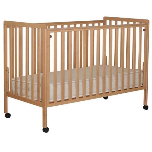 Otroška postelja Luna 120x60cm natur