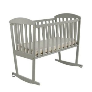 Zibelka za dojenčka siva