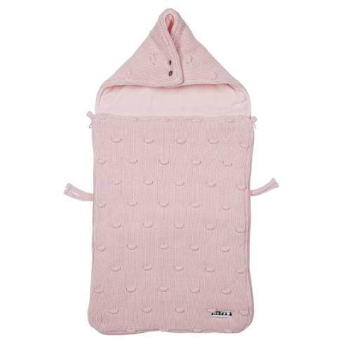 Zimska vreča Meyco roza za avtosedež in otroški voziček