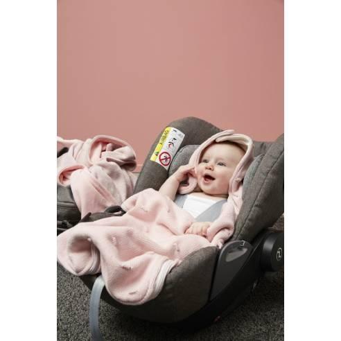 Zimska vreča Meyco roza za avtosedež in otroški voziček.jpg03