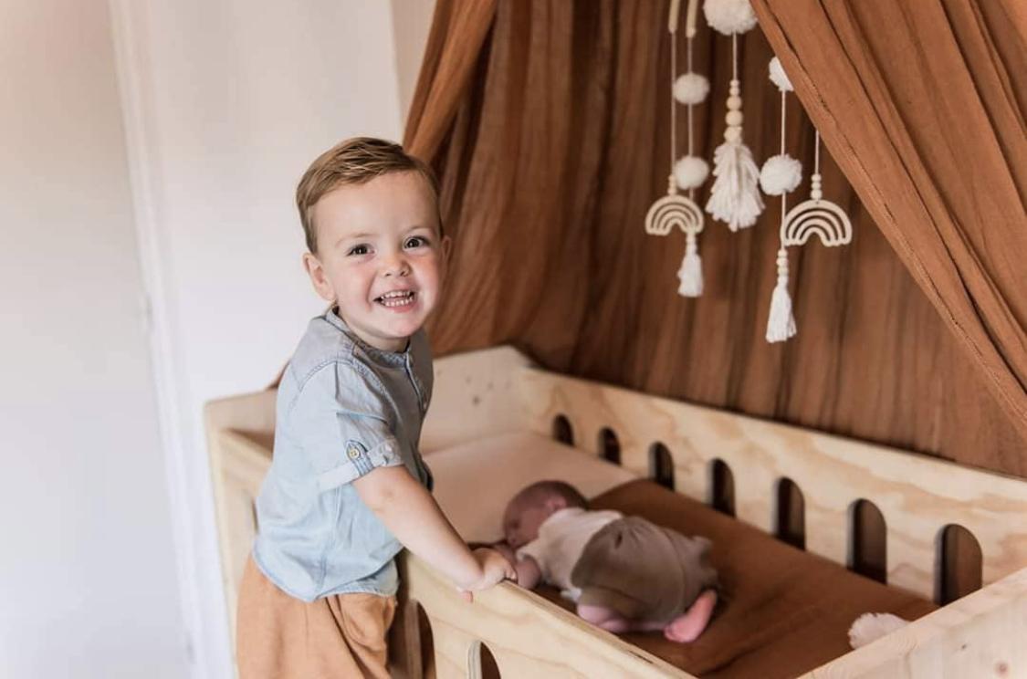 baldahin za otroško sobico