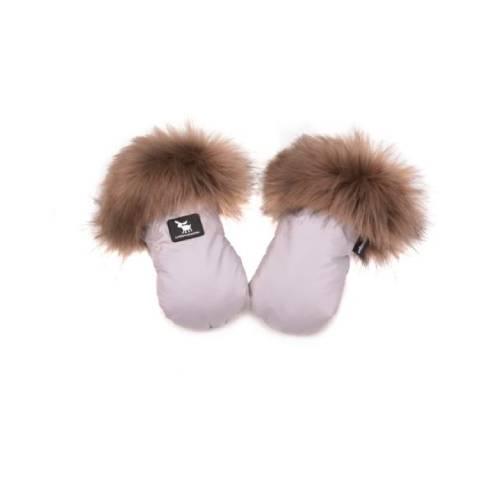 zimske rokavice za otroški voziček Cottonmoose Latte.jpg01