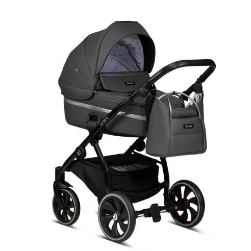 Otroški voziček Tutis Uno 166 siva02