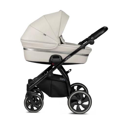 Otroški voziček Tutis Uno 168 sivo-bela01