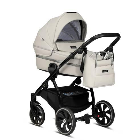 Otroški voziček Tutis Uno 168 sivo-bela03