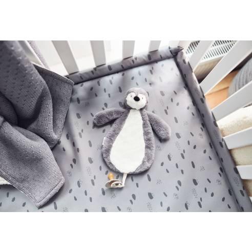 Priponka za dudo Jollein pingvin 02