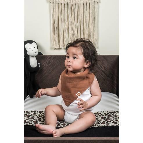 Slinček rutica za dojenčka Jollein leopard