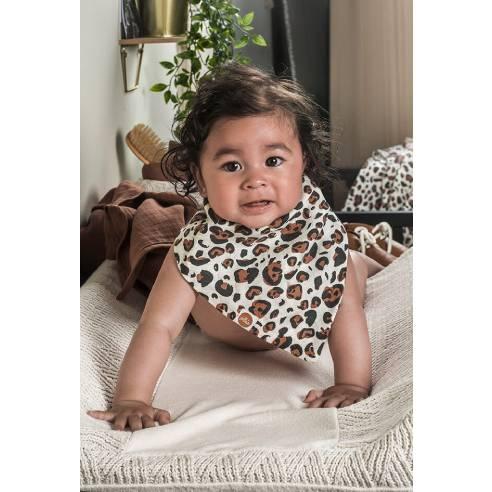 Slinček rutica za dojenčka Jollein leopard 03