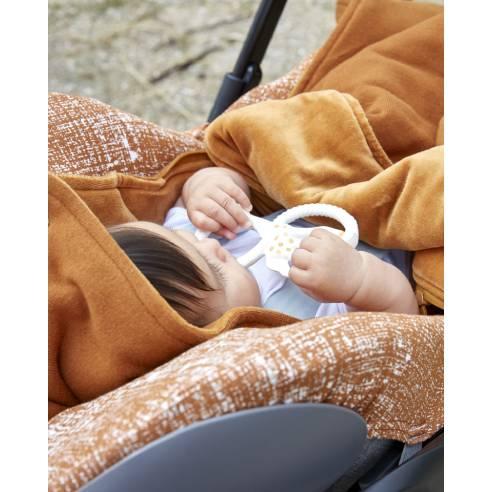 Zimska vreča Mexco Caramel za avtosedež in otroški voziček