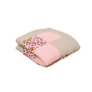 igalna podloga za dojenčka, ootroka peščeno-roza 02