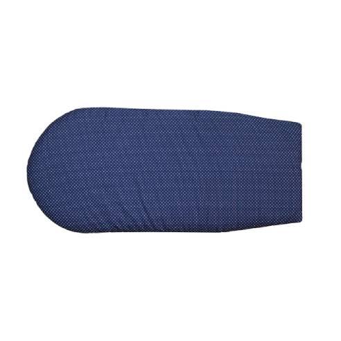 Dodatna blazina, vložek za gnezdo ali globoko košaro modra 01