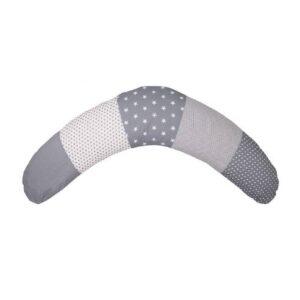 Podporna blazina za dojenje siva 01