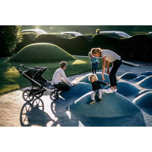 otroški voziček Thule Urban Glide2 Double black 06
