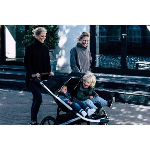 otroški voziček Thule Urban Glide2 Double black 08