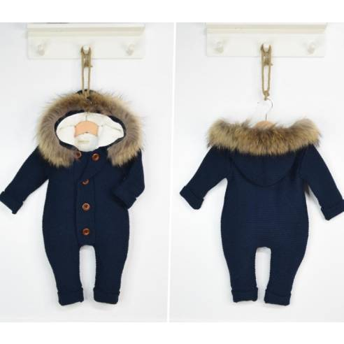 kombinezon s kapuco za dojenčka