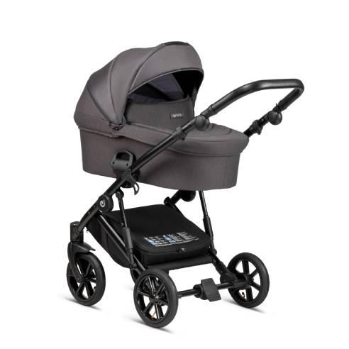 Otroški voziček Tutis Sky 103 dark grey 02