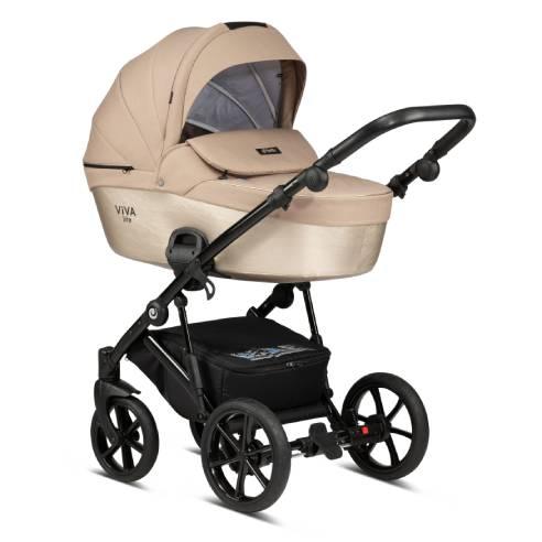 Otroški voziček Tutis Viva life Luxury Amber Gold 061-01