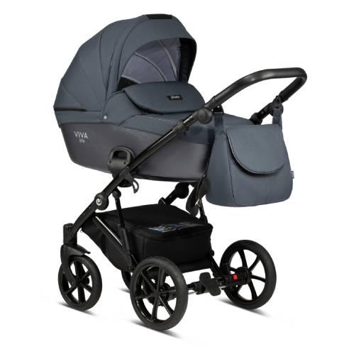 Otroški voziček Tutis Viva life Luxury Obsidian 060-01