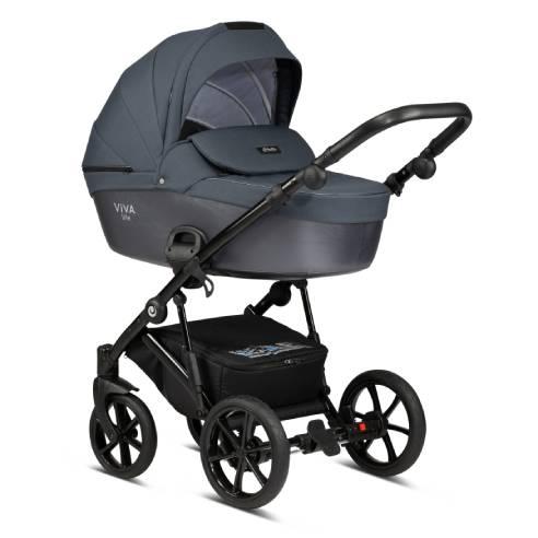 Otroški voziček Tutis Viva life Luxury Obsidian 060-02