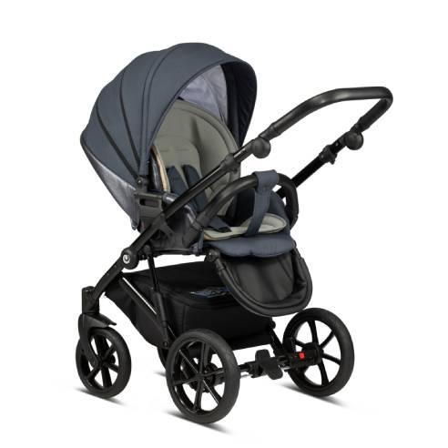 Otroški voziček Tutis Viva life Luxury Obsidian 060-06