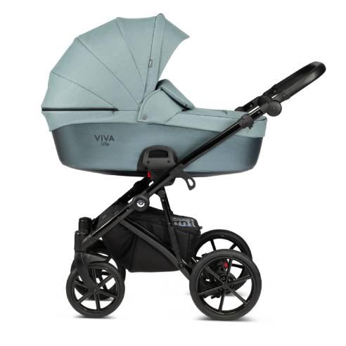 Otroški voziček Tutis Viva life Luxury Turquoise 063-03