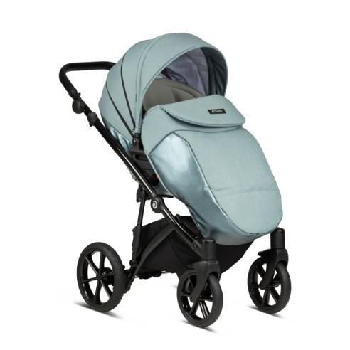 Otroški voziček Tutis Viva life Luxury Turquoise 063-04